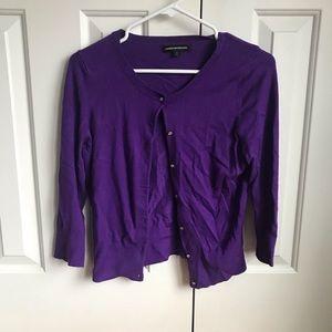 Express Purple Cardigan - Small